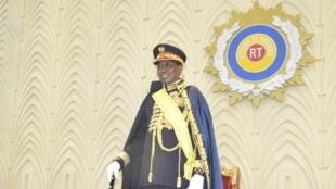 Idriss Déby Itno reçoit le titre de maréchal du Tchad le 11 août 2020.