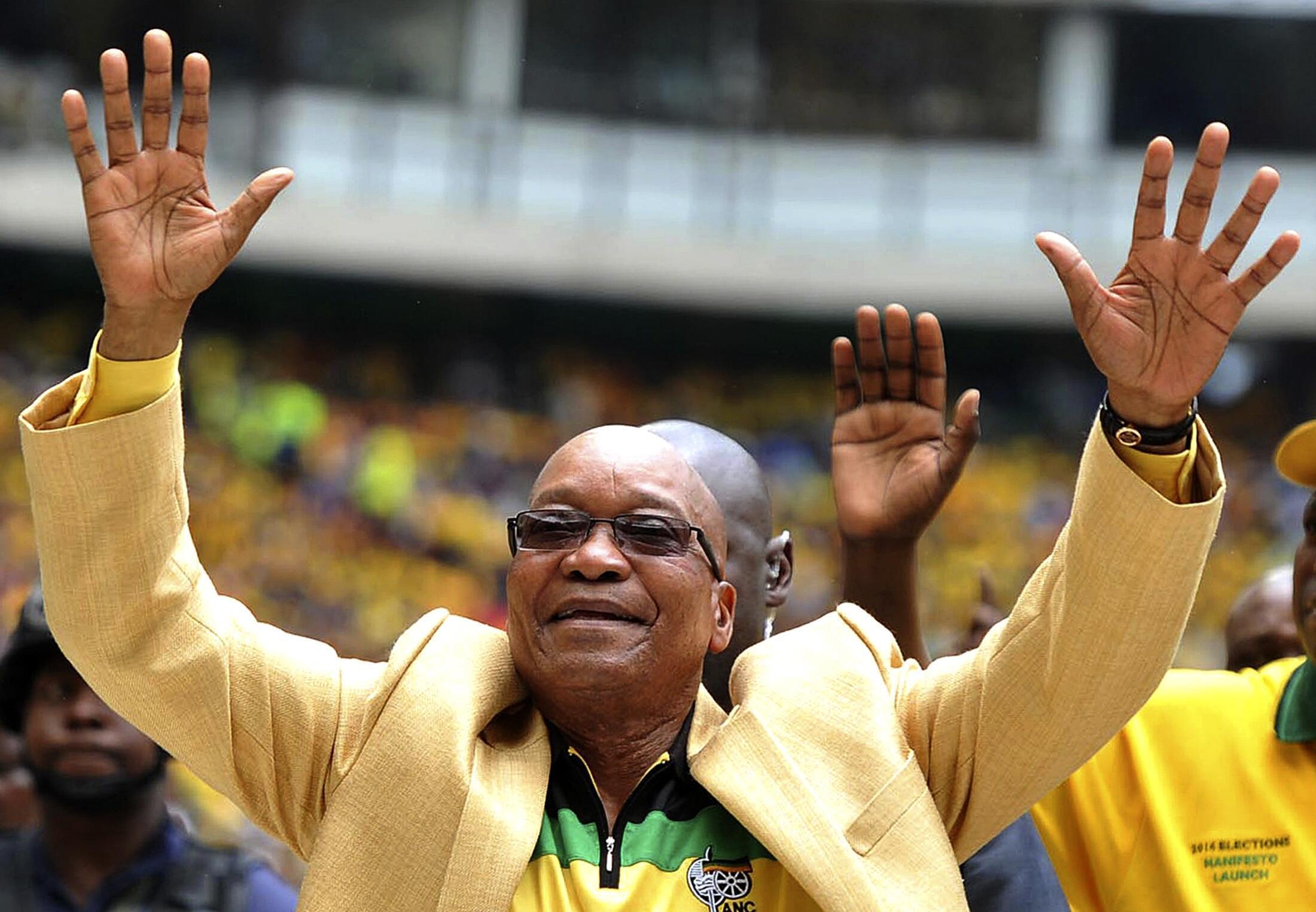 Shugaban kasar Afrika ta Kudu, Jacob Zuma