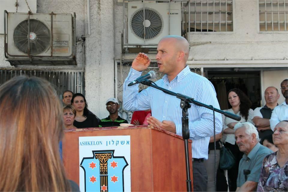 O prefeito da cidade de Ashkelon, Itamar Shimoni