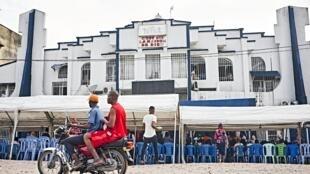 La Cité Bethel, une église de réveil, le 20 février 2020 à Kinshasa, en République démocratique du Congo (RDC).