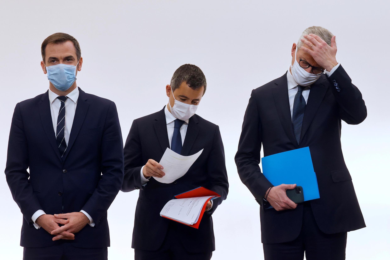 В четверг, 15 октября, премьер-министр Франции Жан Кастекс, а также министры внутренних дел, экономики, труда и здравоохранения провели пресс-конференцию в Матиньонском дворце, на которой объяснили, как будет действовать комендантский час в девяти французских метрополиях.