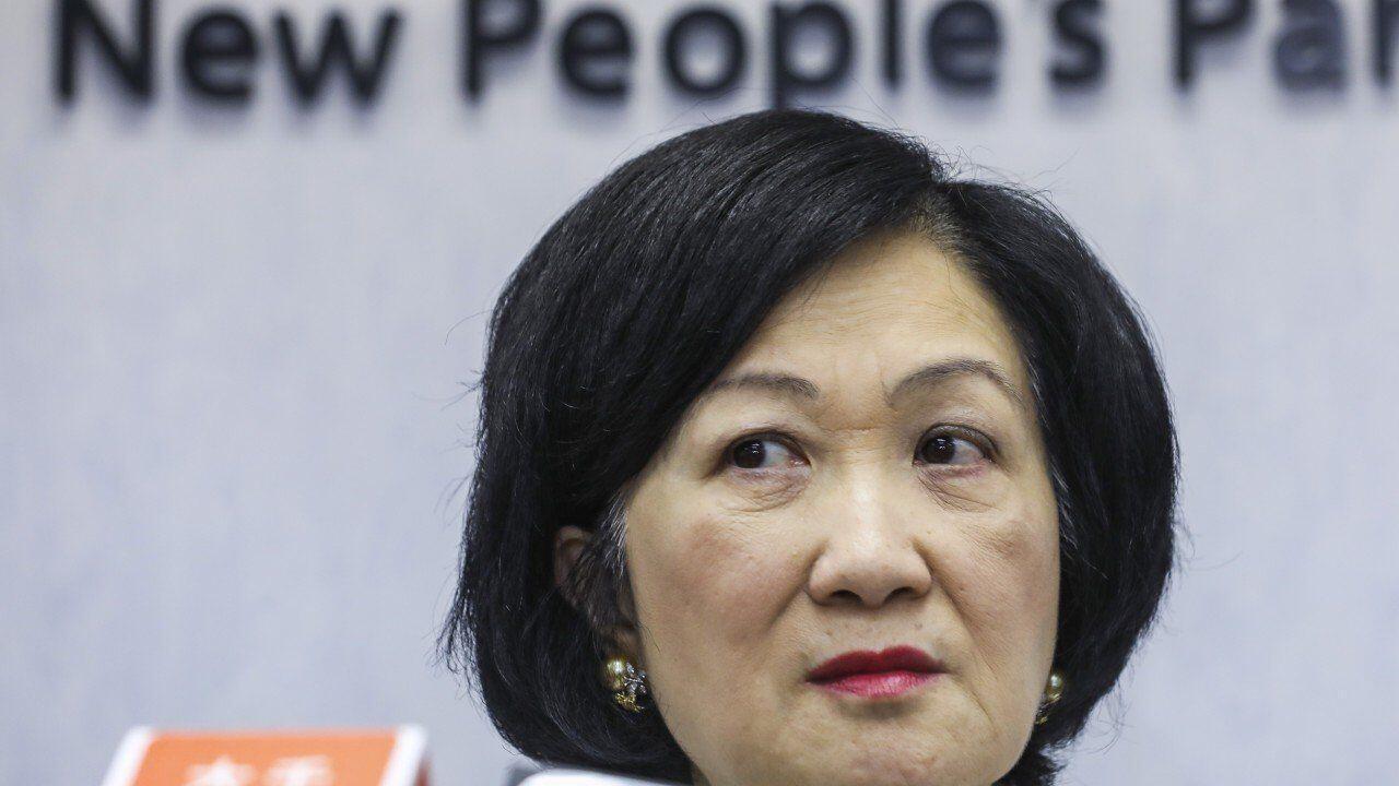 香港立法會建制派新民黨議員葉劉淑儀資料圖片