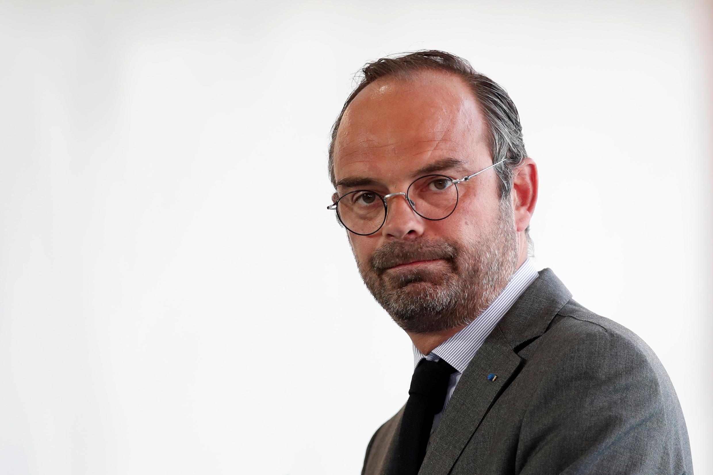 Le Premier ministre français Edouard Philippe, ici lors de l'université d'été du Medef à Jouy-en-Josas, près de Paris, le 28 août 2018.