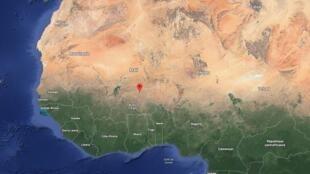事发的阿尔滨达在谷歌地图上的定位