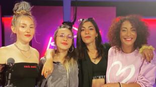 Lucie, Elisa et Juliette Alias les L.E.J dans Légendes urbaines.