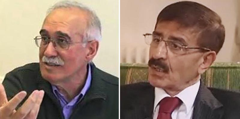 علی کشتگر، محمدرضا شالگونی دو فعال سیاسی چپ