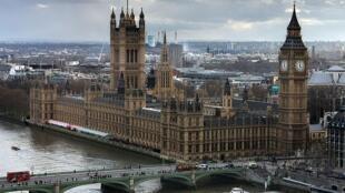 Le palais de Westminster, siège du Parlement britannique à Londres.