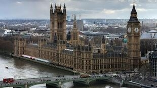 Westminster Palace, Makao makuu ya Bunge la Uingereza London.