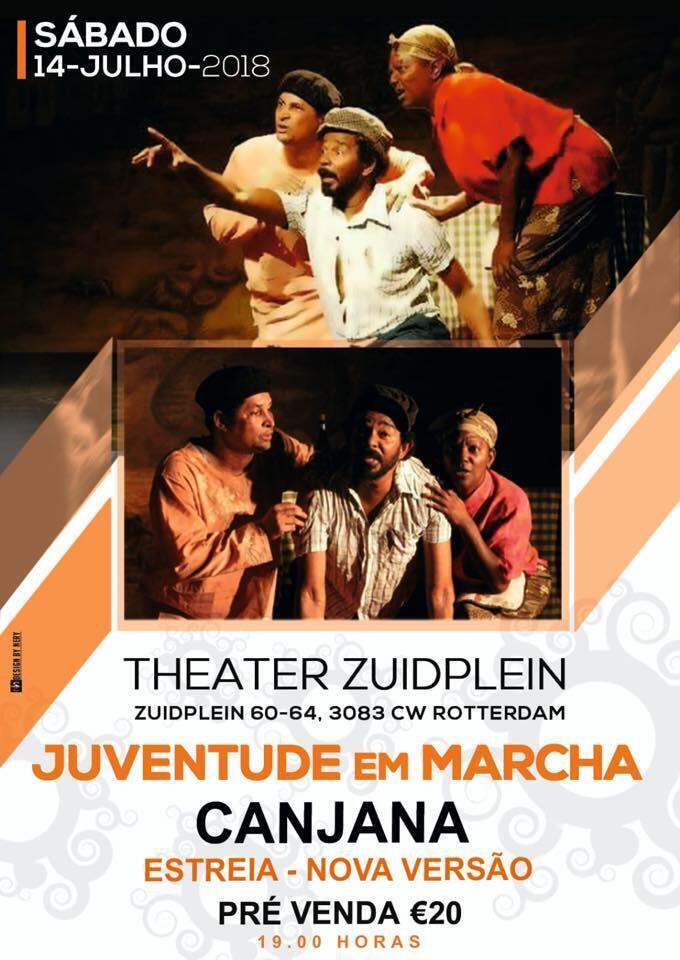 Canjana, de peça de teatro a filme sobre seca em S. Antão, Cabo Verde
