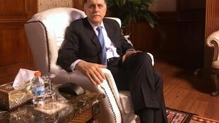 Fayez el-Serraj dans son bureau à Tripoli, le 16 juin 2019.