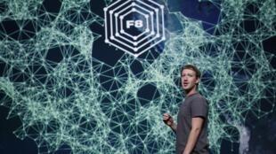 Mark Zuckerberg, fundador do Facebook, em uma conferência em São Francisco.