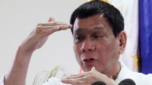 菲律宾总统杜特尔特(资料图片)