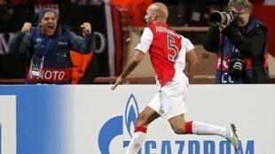 Grâce à un but de son défenseur tunisien Aymen Abdennour face au Zénith mardi 9 décembre 2014, l'AS Monaco file en huitièmes de finale.