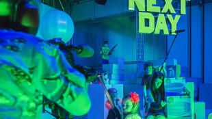«Next Day» est un spectacle d'une grande force dûe certainement à la liberté avec laquelle les enfants ont pu s'exprimer.