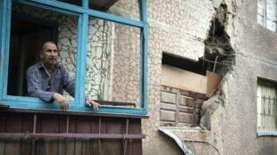 A Sloviansk, la poulation attend les résultats des pourparlers