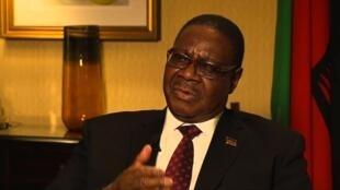 Rais wa Malawi  Profesa Peter Mutharika