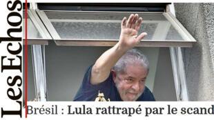 Reportagem do jornal francês Les Echos relatou em detalhes as circunstâncias do depoimento do ex-presidente Lula.