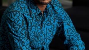 """Charles Habonimana, autor de """"Yo, el último Tutsi"""", publicado por la editora Plon. Abril de 2019."""