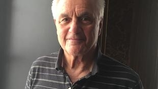 L'écrivain américain John Irving.