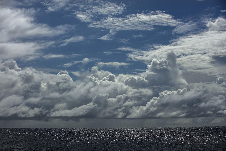 L'ocean Atlantique au large du Brésil et de la Guyane
