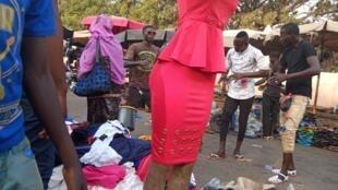 Marché à Bamako (illustration)