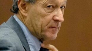 Thierry Gaubert lors de son arrivée au tribunal de Nanterre, le 6 février 2012.