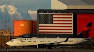 美国达美航空公司航班资料图片