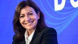 La maire de Paris, Anne Hidalgo, dans un débat sur le Grand Paris, le 29 septembre 2020.