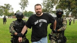 """El Grande"" is arrested by Mexican marines in a residential area of Puebla, Mexico"