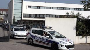Unidade de combate ao crime no setor norte de Marselha