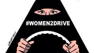 Cresce a mobilização das mulheres sauditas pela igualdade do direito de dirigir.