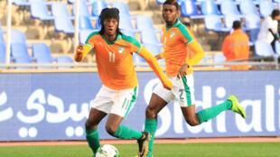Fonsinho, attaquant de la Côte d'Ivoire.