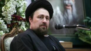 سید حسن خمینی، نوه آیتالله خمینی بنیانگذار نظام جمهوری اسلامی ایران