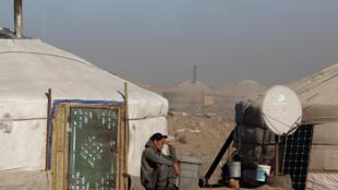 蒙古國戈壁地景