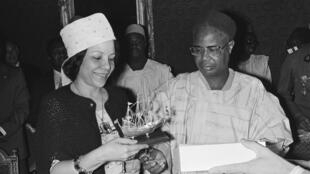 Ahmadou Ahidjo - Germaine Ahidjo - Cameroun - Pays-Bas - archives