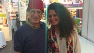 Yvan Amar et Zeina Abirached