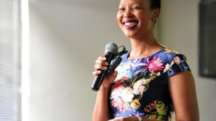 Stella Ndabeni Abrahams, ministre sud-africaine de la Communication.