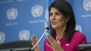 نیکی هیلی نمایندۀ آمریکا در سازمان ملل متحد