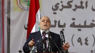 Le Premier ministre Haider al-Abadi.