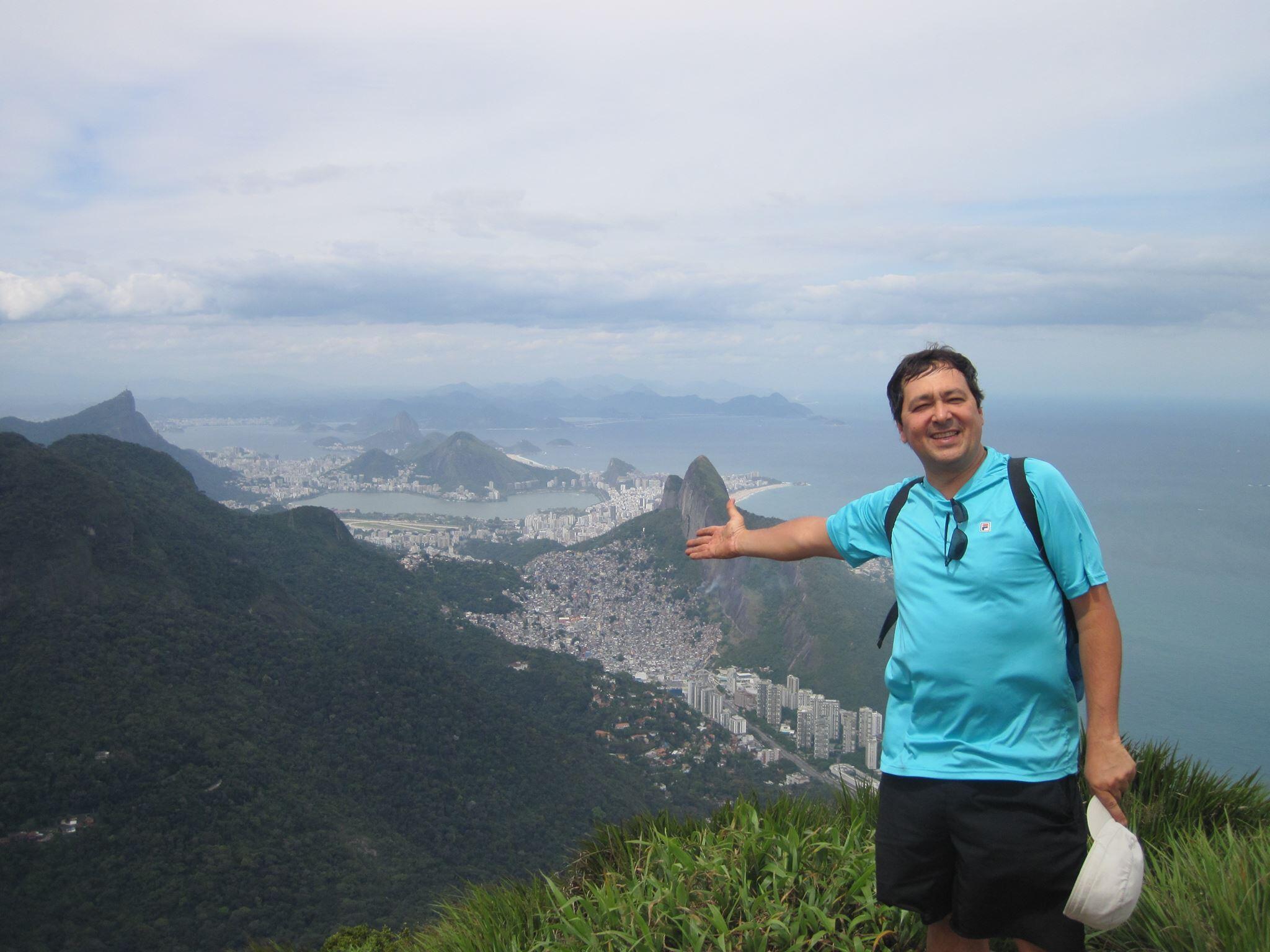 Yuri Ribeiro: de Moscou para o Rio de Janeiro.