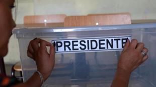 智利舉行總統大選第二輪投票 2017年12月17日