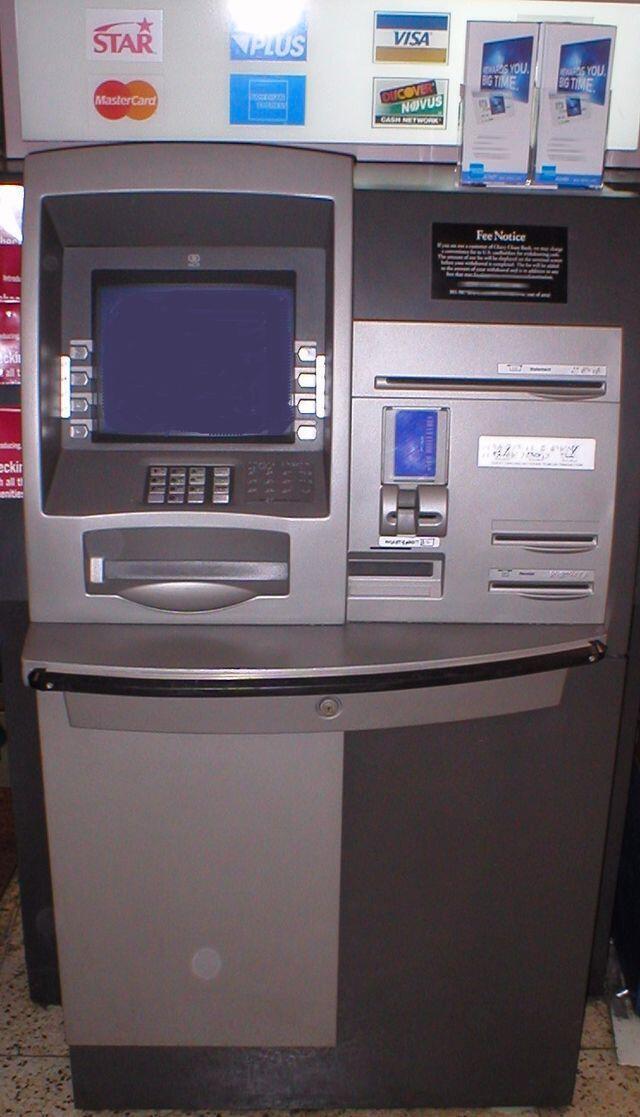 Injinin cirar kudi na ATM
