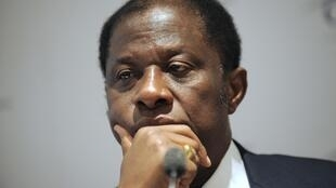 Alexis Thambwe Mwamba, nouveau président du Sénat congolais.