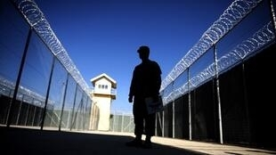 Le centre de détention de Bagram, situé sur une base militaire américaine au nord-est de Kaboul.