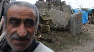 56-летний Машала, житель села Дегирменалты, на востоке Турции. 30 марта 2015 год.