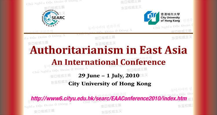 """Hội thảo """"Các chế độ độc đảng ở Đông Á"""""""