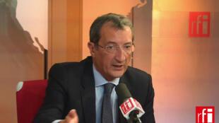 François Lamy, député PS de l'Essonne, proche de Martine Aubry, conseiller politique auprès du Premier secrétaire du PS, ancien ministre