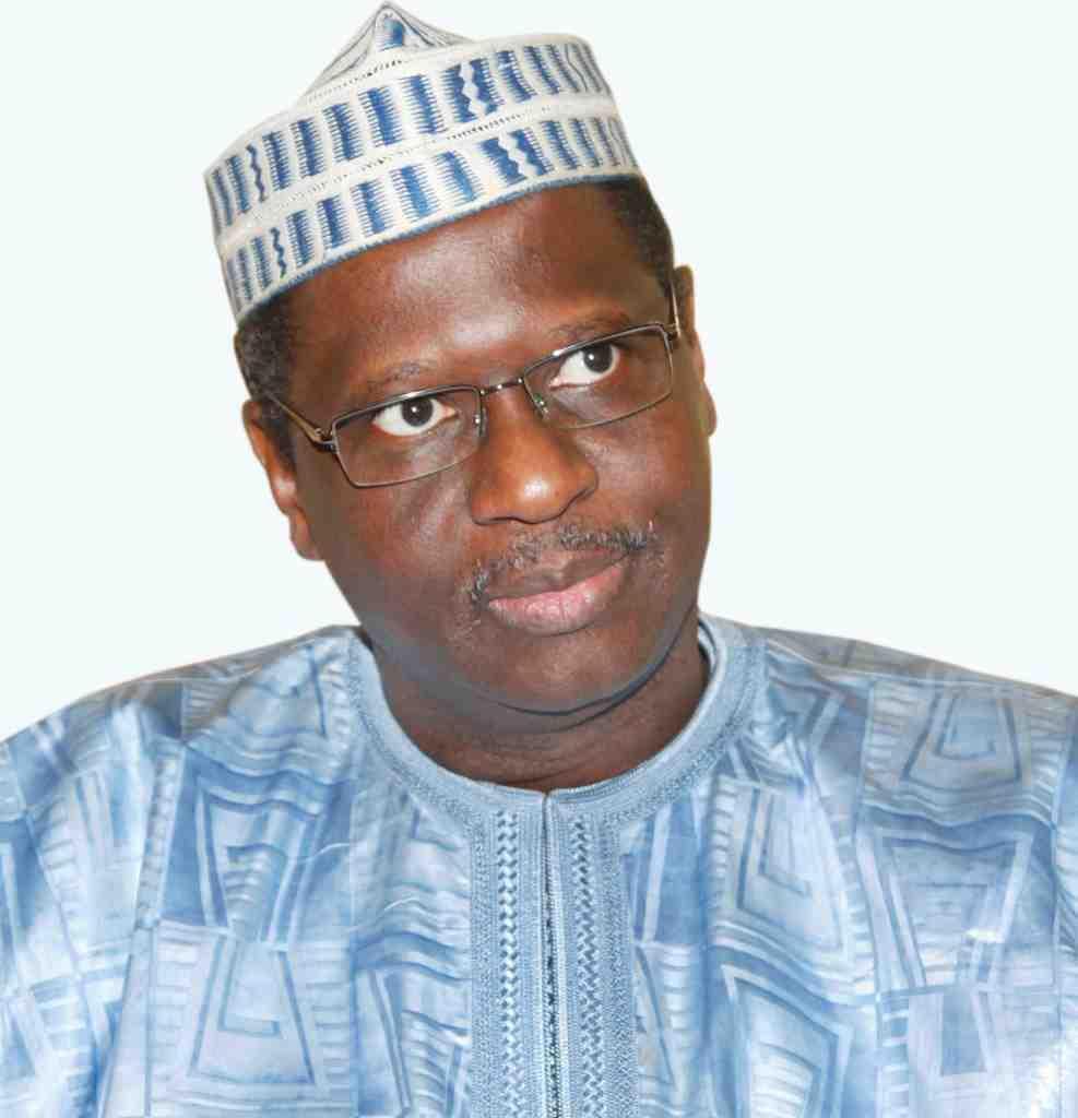 Maître Mountaga Tall, ministre malien de la Communication et de l'Economie numérique.