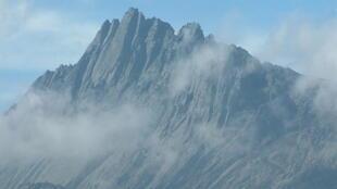 Zona montañosa de la región de Papúa.