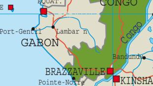 ramani ya jamuhuri ya watu wa Congo